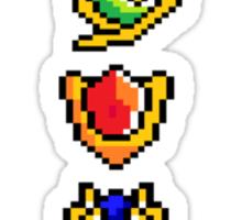 Tiny Spiritual Stones V.2 Sticker