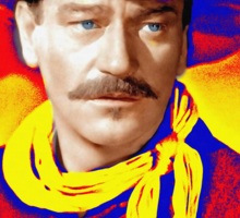 John Wayne in Rio Grande Sticker