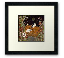Fox Fae Framed Print