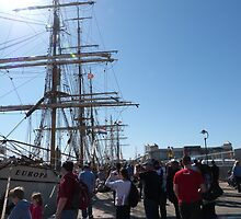 Festival of Tall Ships, Port Adelaide. S.A. by Rita Blom