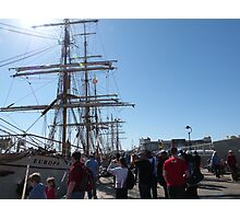 Festival of Tall Ships, Port Adelaide. S.A. Photographic Print