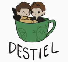 Destiel by Christina Oh