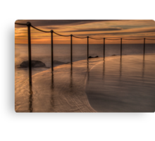 Bronte Beach rock pool Canvas Print