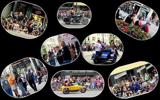 The Parade...Harley's 110 year anniversary!!! by Dawn M. Becker