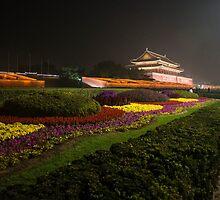 Beijing by night  by Andrea Rapisarda