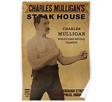 Charles Mulligan's Steakhouse Print Poster