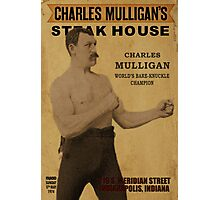 Charles Mulligan's Steakhouse Print Photographic Print