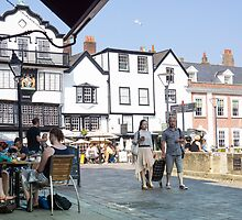 exeter square by Anne Scantlebury