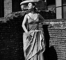 Portrait, Colosseum, Rome   by Rodney Johnson