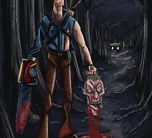 Evil Dead Ash by Zombieburger80