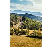 Arezzo, Tuscany (near Castelnuovo) #002 Photographic Print