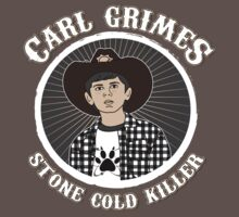 Carl Grimes - Stone cold killer by brostephhhx