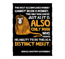 Clever Monkey Photographic Print