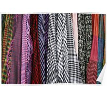 Scarves in Cotacachi Poster
