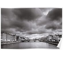 St Patrick's Bridge, Cork, Ireland Poster