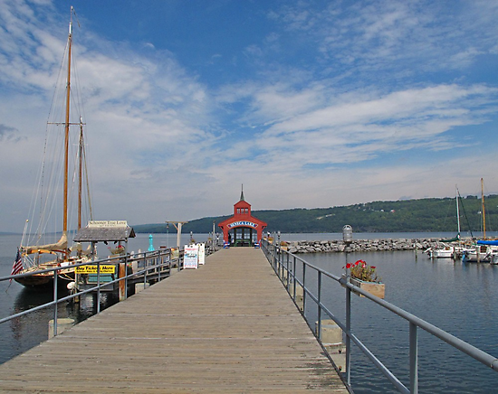 Seneca Harbor Pier by Jack Ryan