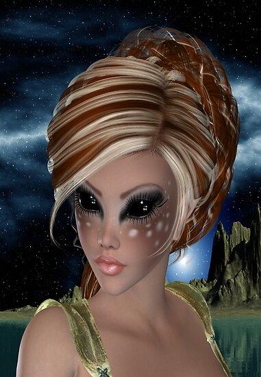 Fawn .. Alien Princess by LoneAngel