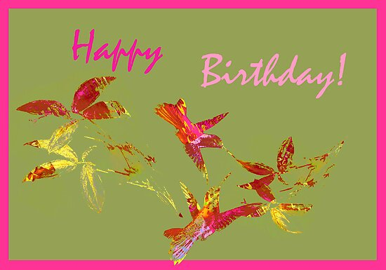 Greeting Card. Happy Birthday! by Vitta