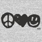 Peace, Love, Happy by GENE .