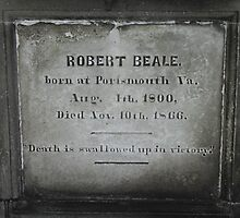 Robert Beale Grave, 1800-1866 by Kelly Morris
