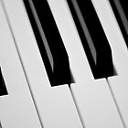 Keys - Photography Print Of Piano Keys by Jean-Pierre Mouzon