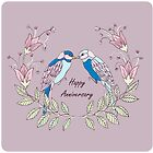 Happy Anniversary with LoveBirds by MADCreations