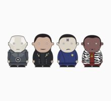Red Dwarf Crew by chubbyblade