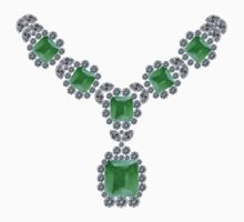 'Look at Me' Emerald Necklace by eldonshorey