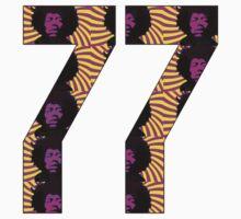 Jimi Hendrix Sevens by George Barwick