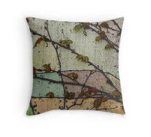 Vine Times Throw Pillow