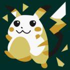 Retro Pikachu by DanSoup