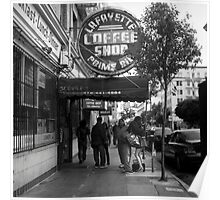 Lafayette Coffee Shop Poster
