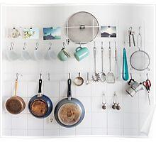 Kitchen Utensils Poster