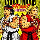 Grunge Street Fighters by butcherbilly