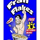 Fran Flakes-iphone case by reggie brown