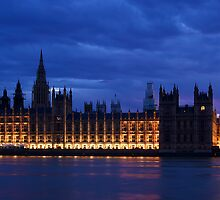 Westminster - LONDON by Fern Blacker