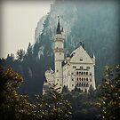 Neuschwanstein Castle in Color by Kaitlin Kelly