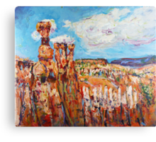 Utah #1 - Bryce Canyon Canvas Print