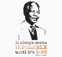 Nelson Mandela by foofighters69