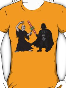 Darth Vader vs Lord Voldemort T-Shirt