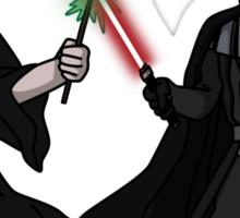 Darth Vader vs Lord Voldemort Sticker
