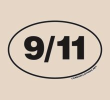 9/11 Oval Stickers by CarbonClothing