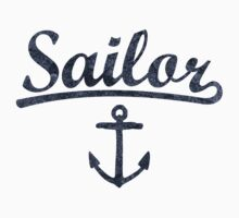 Sailor Anchor Dark by theshirtshops
