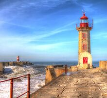 Porto Lighthouse by Robyn Carter