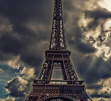 Reaching the Sky - Eiffel Tower - Paris - France by Yannik Hay