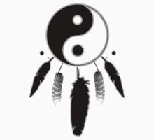 Yin yang- dreamcatcher by Dream-life
