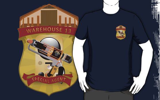 Warehouse 13 - Special Agent by phoenix-cry
