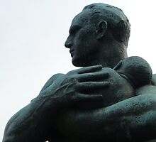 Father and Child, Gustav Vigeland by SoulSparrow