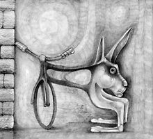 Rabbit Powered Bicycle. by - nawroski -