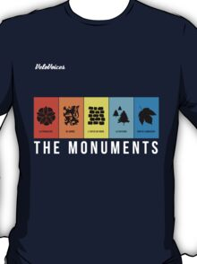VeloVoices Monuments T-Shirt T-Shirt